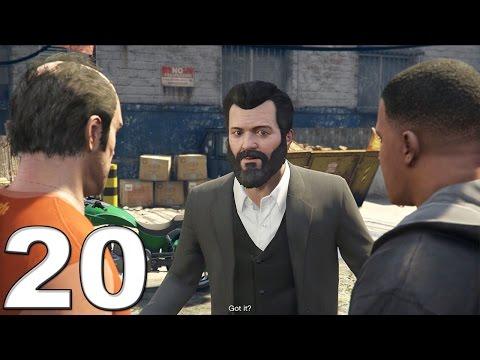 Grand Theft Auto 5 PS4 Gameplay Walkthrough Part 20 - Three's Company!!