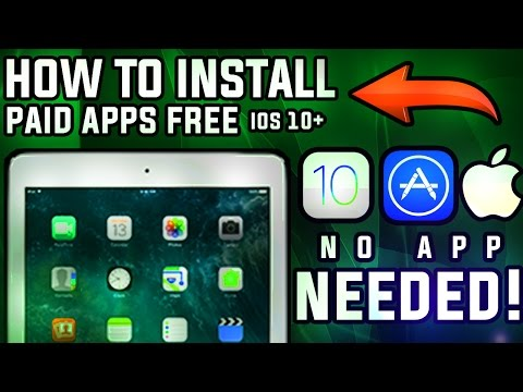How To Install PAID Apps FREE iOS 10 - 10.2/10.2.1! [NO JAILBREAK] iPhone & iPad 2017