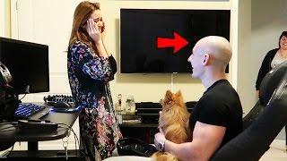 Download SHAVING MY HEAD BALD PRANK ON GIRLFRIEND!! (SHE CRIED) Video