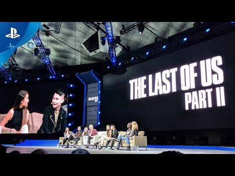 The Last of Us Part II - PSX 2017 Panel   PS4