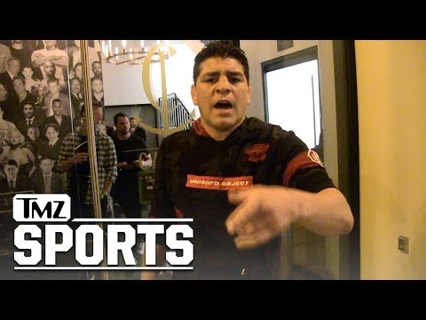Nick Diaz Says He was 'Poisoned' Before 2013 George St-Pierre Fight   TMZ Sports
