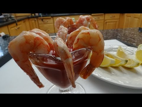 Perfectly Cooked Shrimp for Shrimp Cocktail Sous Vide Style