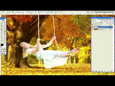 how to change background in photoshop cs2 in hindi