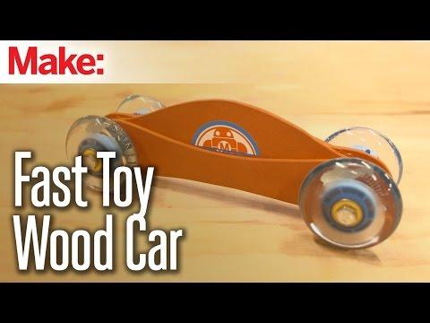 Fast Toy Wood Car