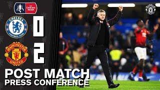 Post Match Press Conference   Chelsea 0-2 Manchester United   Ole Gunnar Solskjaer