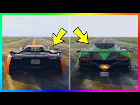The REAL Reason Why The NEW GTA Online DLC Super Cars & Vehicles Are So Slow! (GTA 5)