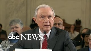 Jeff Sessions Comes Under Fire During Attorney General Confirmation Hearing