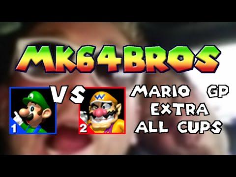 Mario Kart 64 - Luigi vs Wario - MK64Bros