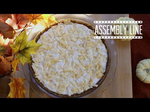 Coconut Cream Pie  (Vegan & Gluten Free) | Assembly Line