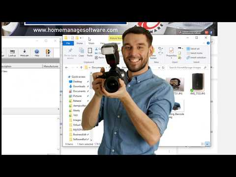 Using Image Files With HomeManage
