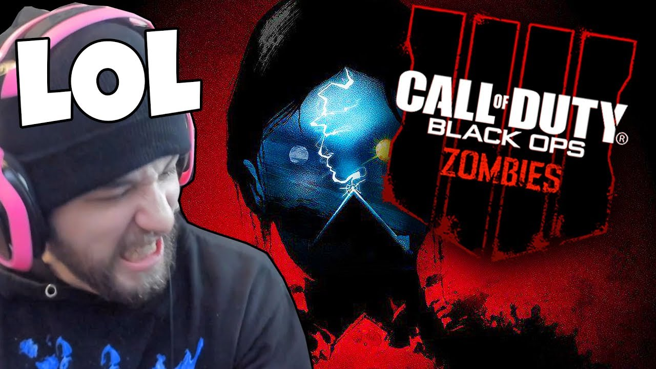JEV PLAYS BLACK OPS 4 ZOMBIES (CHALLENGE ACCEPTED)