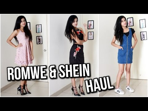 How to get expensive clothes for cheap? Shein.com Romwe.com Try on Haul