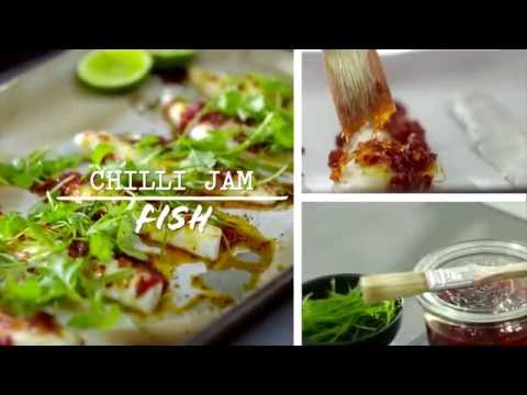 Chilli Jam Fish  Donna Hay