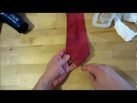 Silk Tie Stain Removal