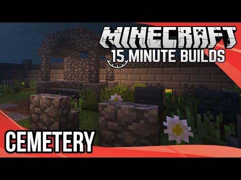 Minecraft 15-Minute Builds: Cemetery (Graveyard)