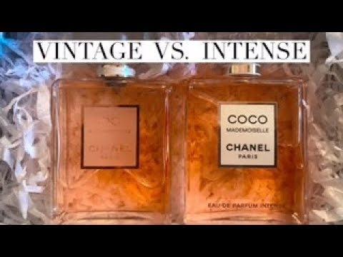 New CHANEL Coco MADEMOISELLE INTENSE Unboxing & Vintage Comparison