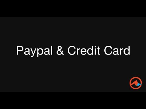 Setup Player with Paypal and Credit Card