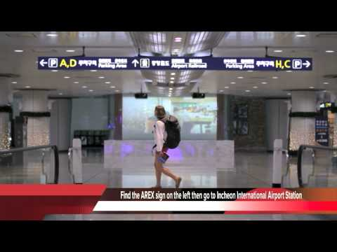 (all stop train) Incheon International Airport Station Guide