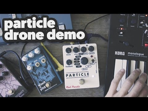 PARTICLE: drone demo [co-starring: wizard of pitch, transmisser & monologue]