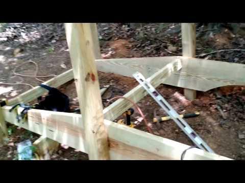 Building a Small Bridge Over a Ditch