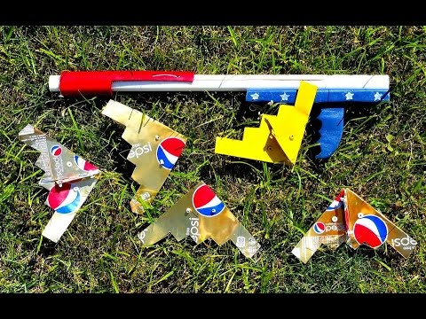 Build A Simple B-2 Model From 2 Cans- That Flies!!!