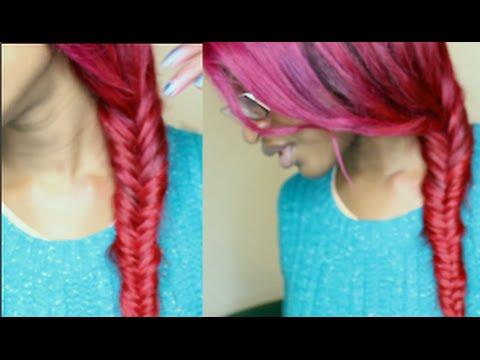Mermaid Fishtail Braid Hairstyle Tutorial