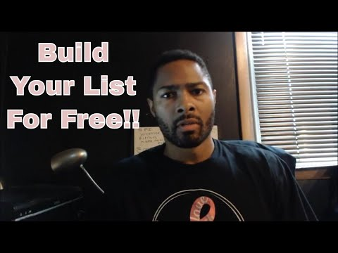 Best Free Autoresponder! How To Build A Huge Email List For Free...