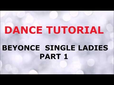 DANCE TUTORIAL Single ladies Beyonce Part 1