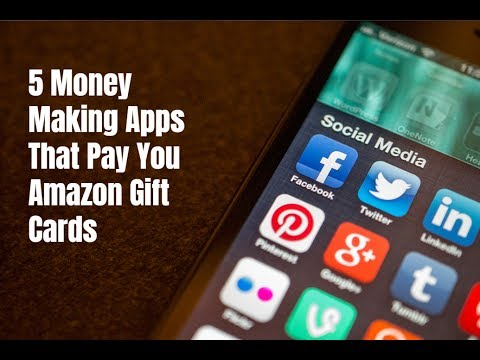 5 Money Making Apps That Pay You Amazon Gift Cards