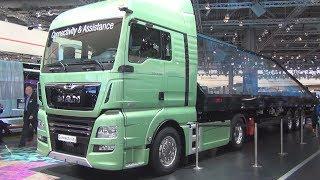 MAN TGX 18 640 D38 PerformanceLine Tractor Truck Exterior and