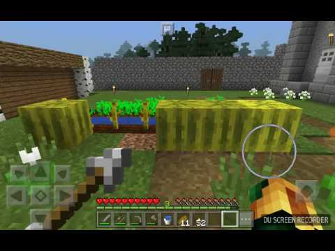 MCPE survival let's play [EP 13] | Doing random stuff in our world!!