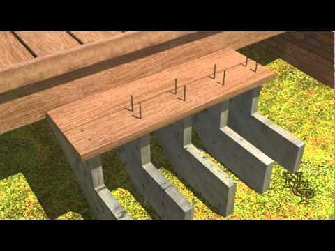 6 - Composite Deck Building - Stair installtion