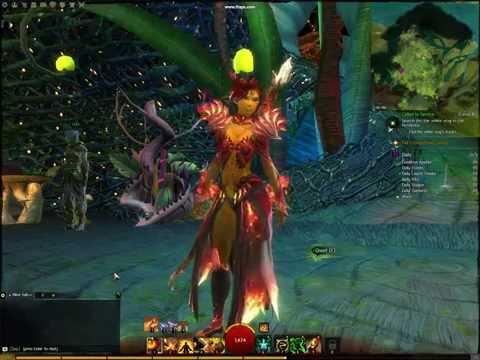 Guild Wars 2 fire armor :)