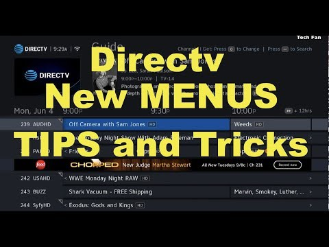 Directv Genie New Menus How To Navigate With QUICK TIPS and Shortcuts DVR