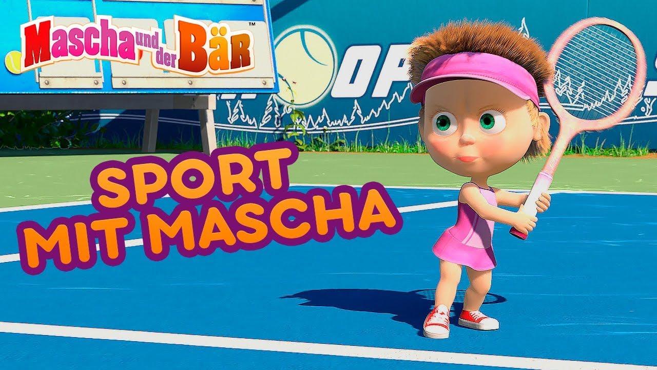Mascha und der Bär - ⚽ Sport Mit Masha 🏀🥉