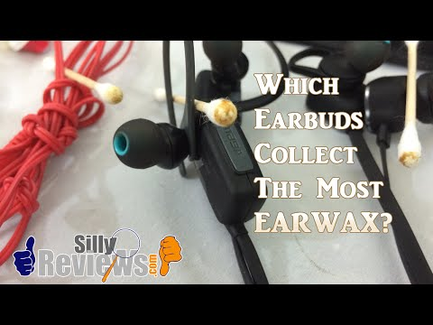 Earbuds Face Off (Which Earbuds Collect The Most Ear Wax??)