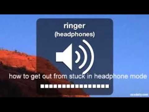 stuck in headphone mode 100%working