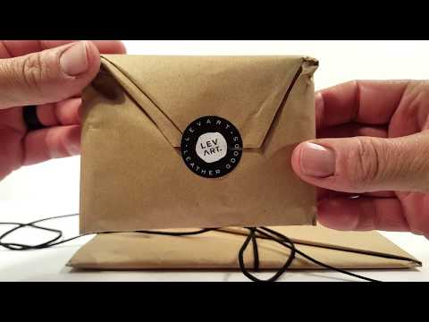 Levart Leather - handcrafted Wallet & iPad sleeve