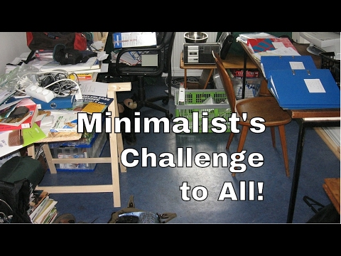 A Minimalist's Challenge to All!