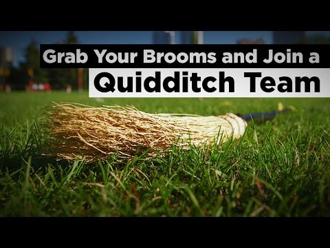 Get Your Brooms And Join A Quidditch Team - How to Play Quidditch
