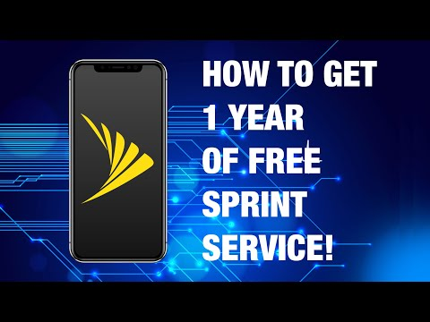 Sprint FREE Year of Service?!