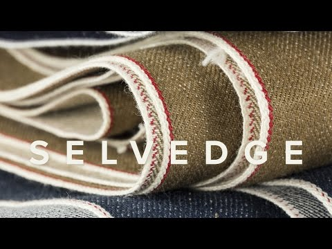 Sewing Men's Selvedge Jeans