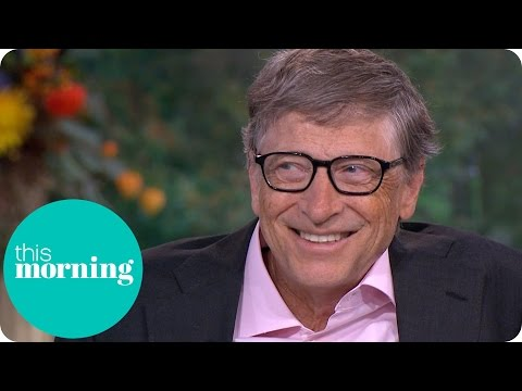 Bill Gates Talks Dropping Out Of College And Reveals His Biggest Extravagance | This Morning
