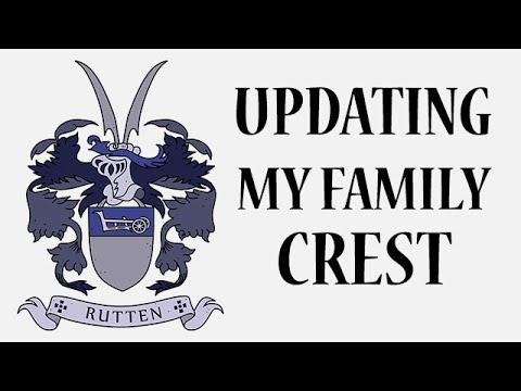 Redrawing the Rutten Coat of Arms in VECTOR