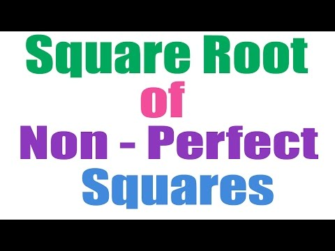 Square Root of Non Perfect Squares Fast Trick - Hindi (2016)