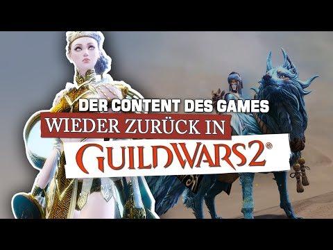 Guild Wars 2 🐲 Der Content des Games! Was ist PvE, WvW, PvP?
