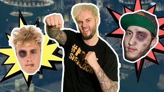 I PUNCHED JAKE PAUL AND FAZE BANKS!? *UNSEEN FOOTAGE*
