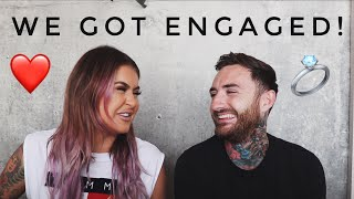 OUR ENGAGEMENT STORY | JAMIE GENEVIEVE