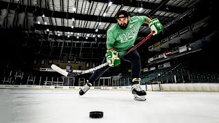 Hockey Trick Shots | Dude Perfect