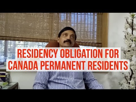 What are the residency obligations for Canadian PR holder? (www.dreamvisas.com)